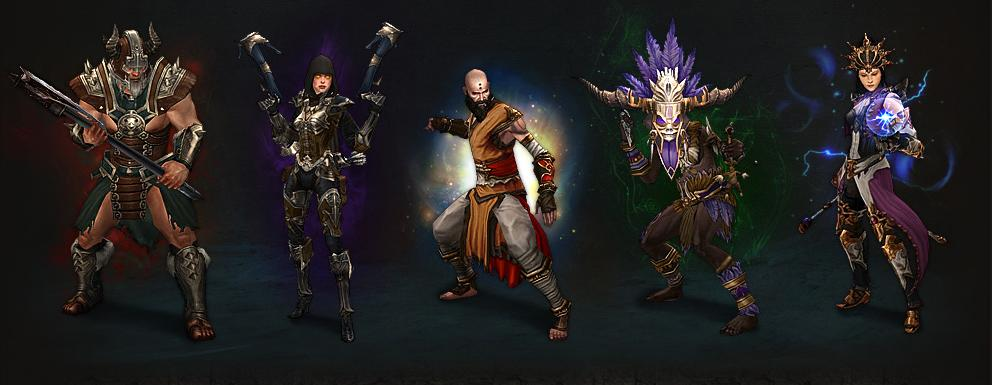 Diablo 3 character classes