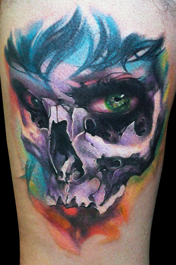 Games 4ever for Color skull tattoos